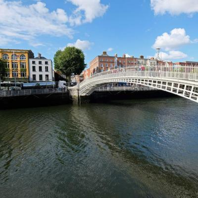 Ha'penny Bridge, ce pont est le symbole de Dublin