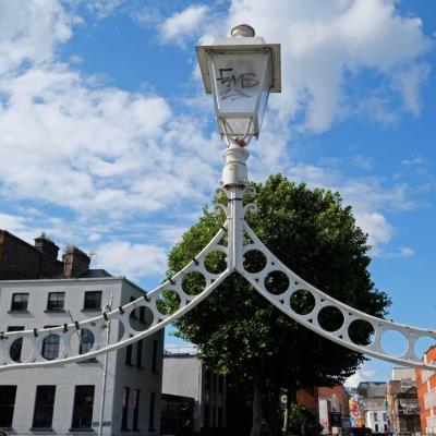 Avec ses 3 lanternes c'est le pont le plus photographié de Dublin