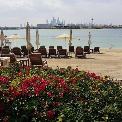 juste un petit coup d'oeil sur Dubaï vue de la palme