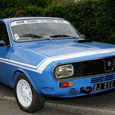 Bleu comme ... cette Renault 12 Gordini