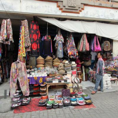 Un petit tour au marché de Ubud avant notre départ