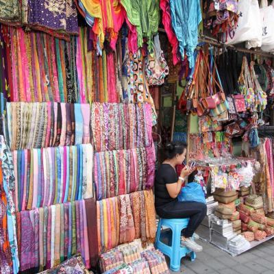 Les couleurs du marché, ici Ubud, mais tout Bali est colorée