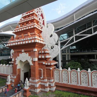 Bali airport ... côté départ ! snif !!