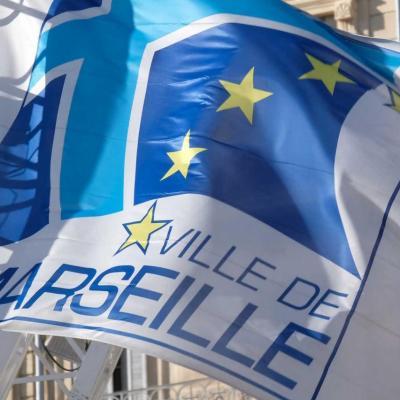 Bleu comme ... le drapeau marseillais