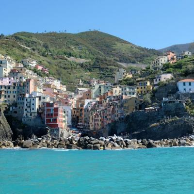 difficile d'accès, par le bateau la vue sur ce village est la plus belle