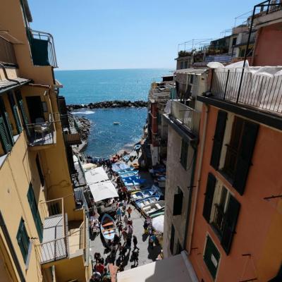 C'est Riomaggiore qui a les maisons les plus colorées