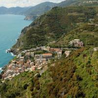 Surplomber Riomaggiore et les vignes, un paysage magnifique