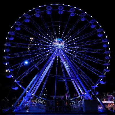 """Bleu comme ... la """"petite"""" grande roue d'Antibes"""