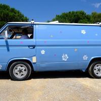 Bleu comme ... ce Combi T3 au meeting de la Londe les Maures