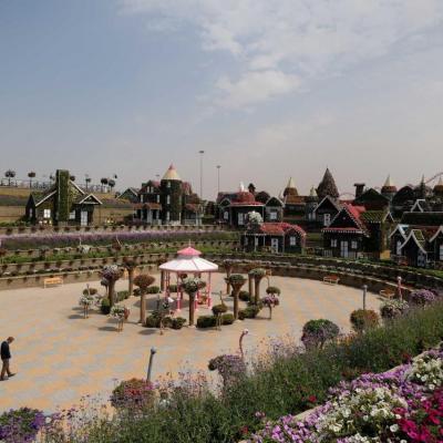 Miracle Garden le plus grand jardin du monde dans le désert