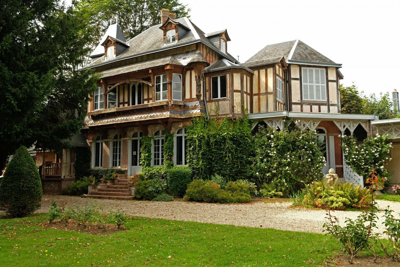la maison de Maurice Leblanc créateur d'Arsène Lupin