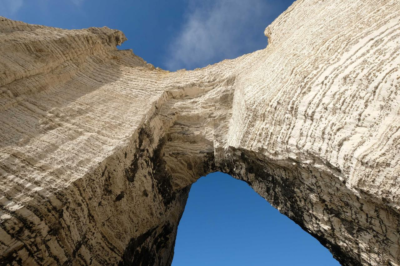 l'Arche de la Manneporte à marée basse