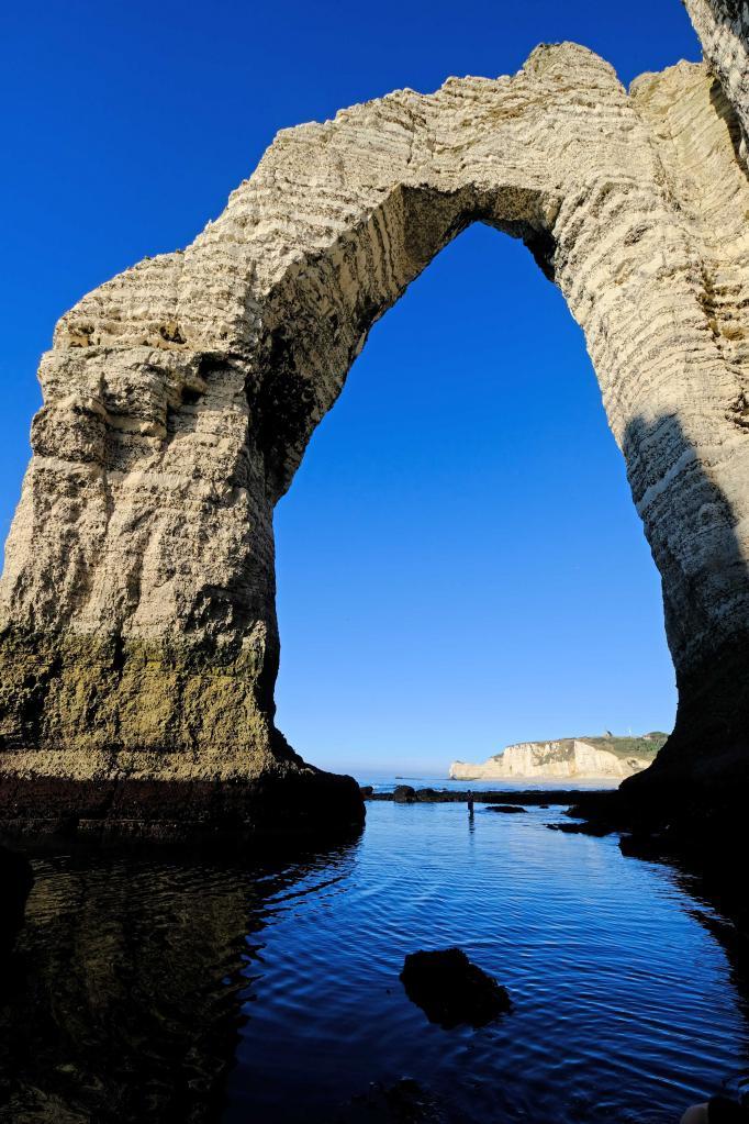 la falaise d'Aval, pour moi c'est la plus belle
