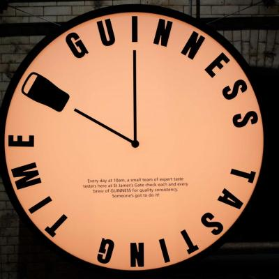 Guinness fait sa propre promotion