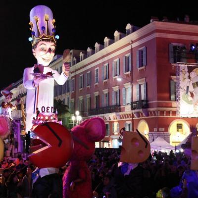 Le Roi a fait de tour du Carnaval