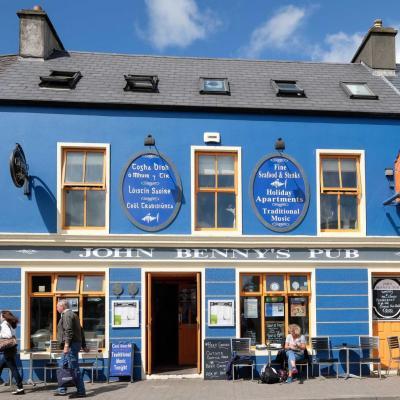Bleu comme ... ce pub irlandais à Dingle