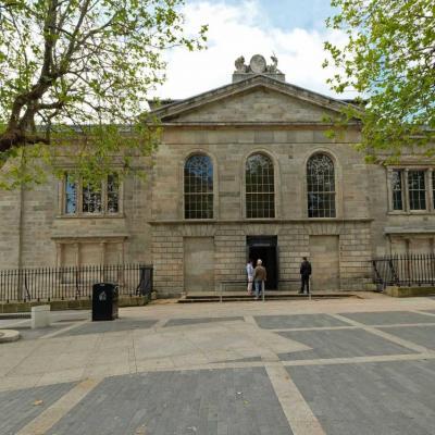 la prison de Kilmainham Gaol, l'une des plus terribles prisons d'Europe