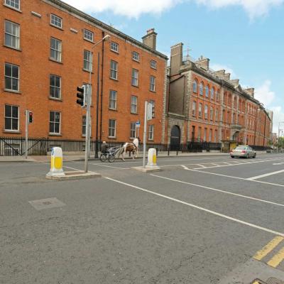 Jame's street, quartier de l'usine Guinness