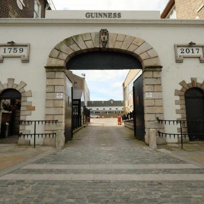 La célèbre bière vit le jour en 1759 par Arthur Guinness
