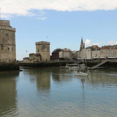 La Rochelle, à marée basse