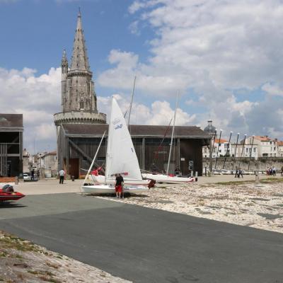 L'école de voile de La Rochelle
