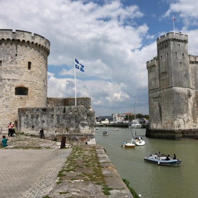 La Rochelle et ses deux tours