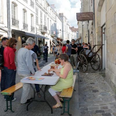 Animations, jeux ... dans les rues de La Rochelle