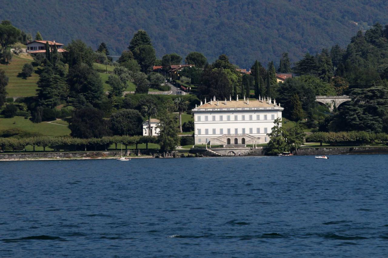 la villa Melzi avec ses luxuriants jardins (visite plus loin)