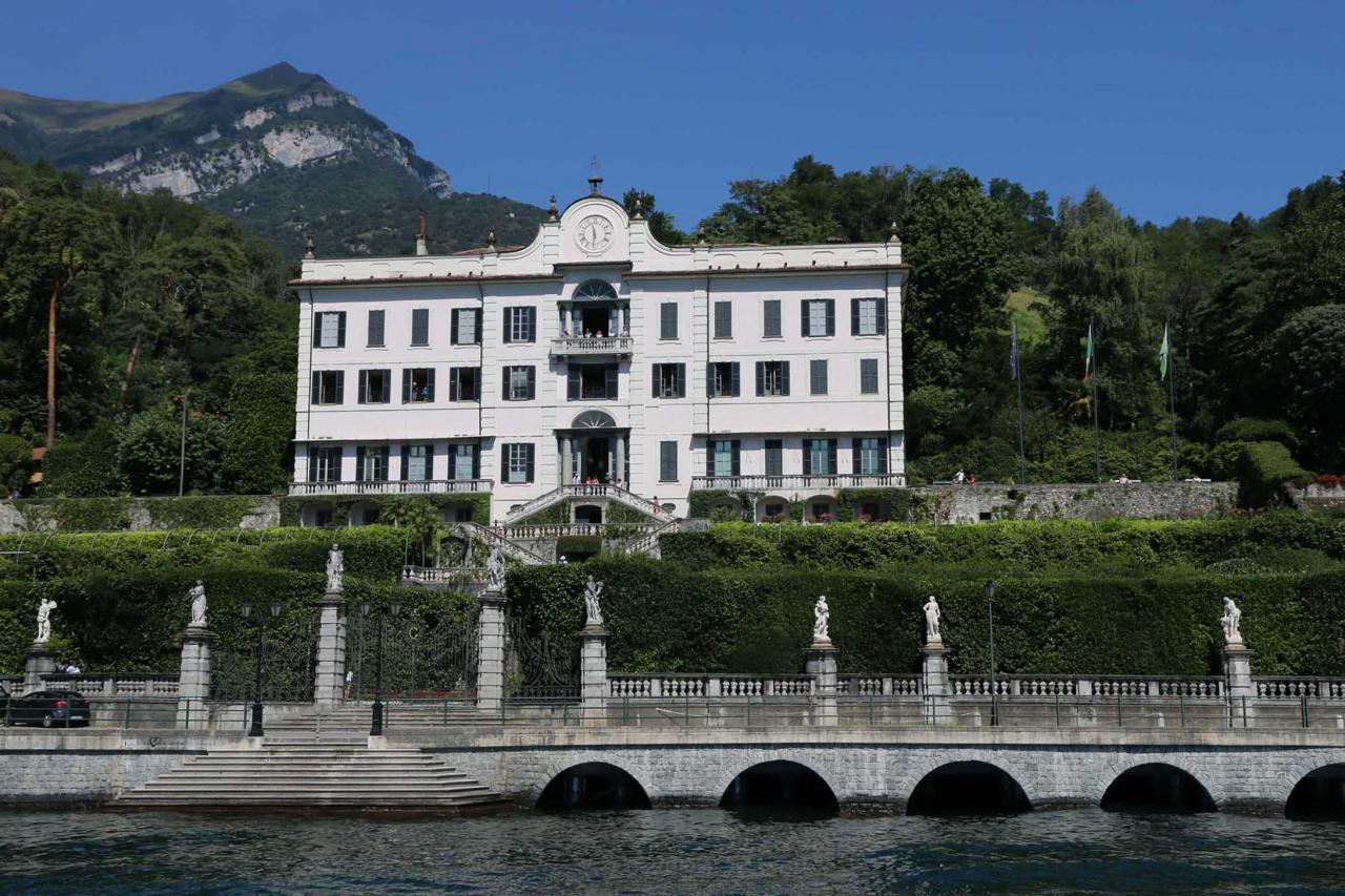 Villa Carlotta (visite prévue)