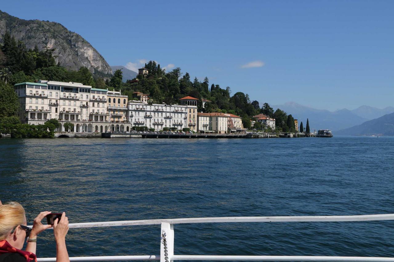 Tremezzo au centre du lac