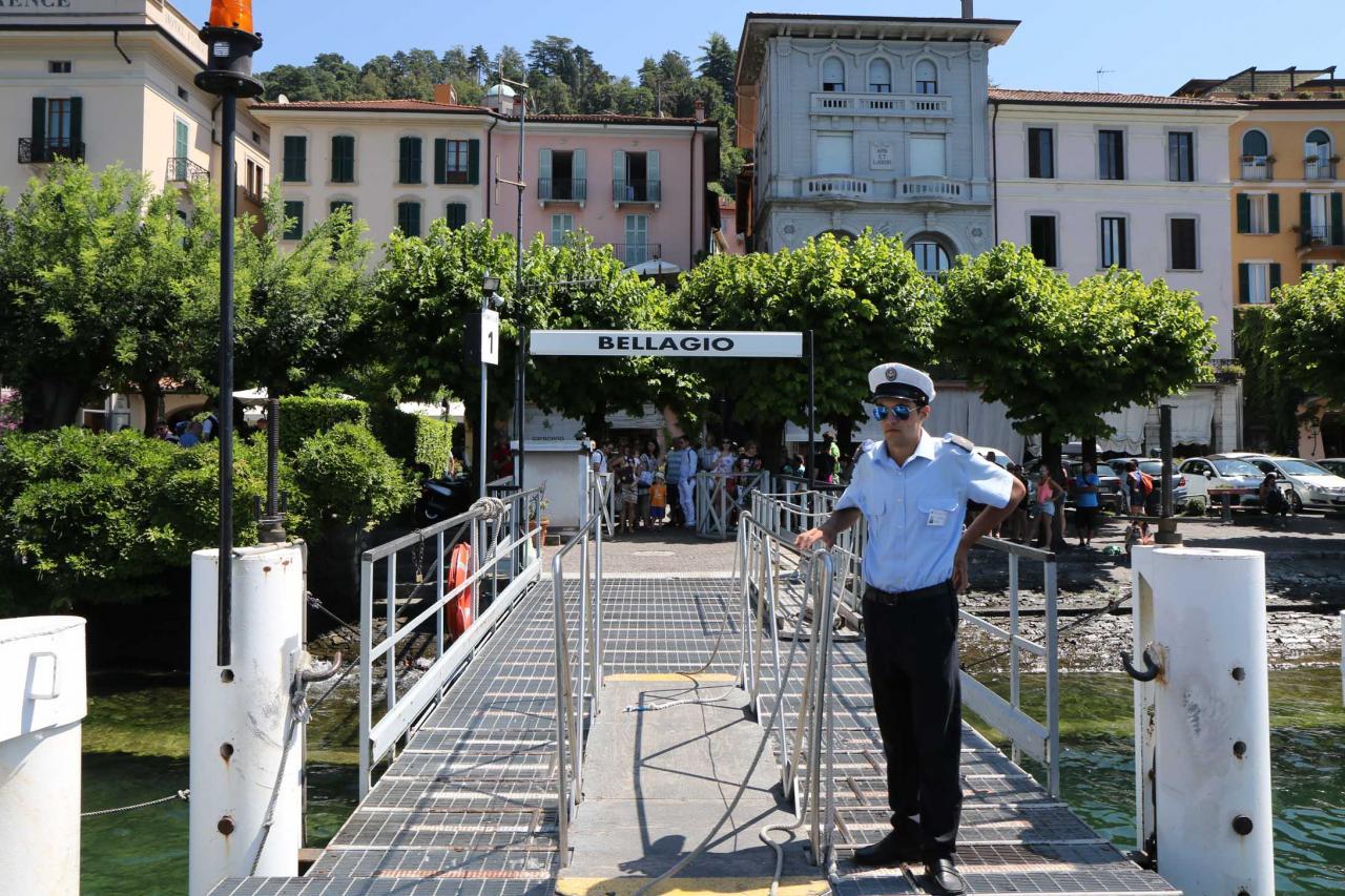 cette fois-ci, brève escale à Bellagio