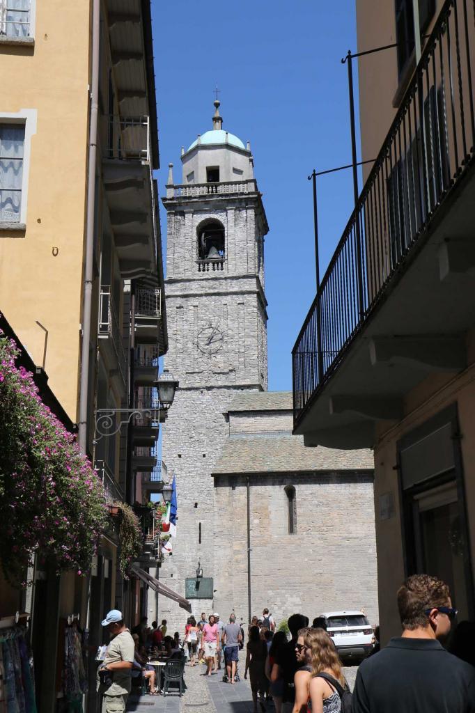 L'Eglise,  la plus ancienne de Bellagio