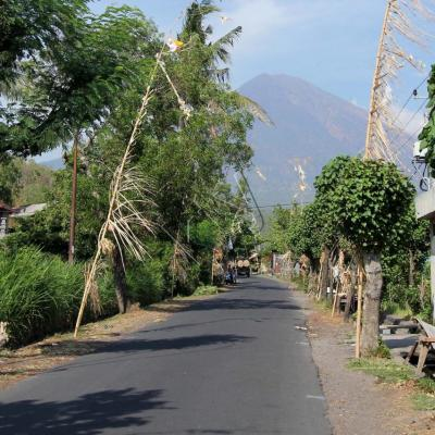 Le Gunung Agung domine tout l'est de Bali_GF
