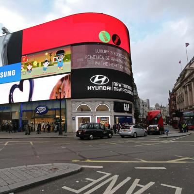 Et voici Picadilly Circus