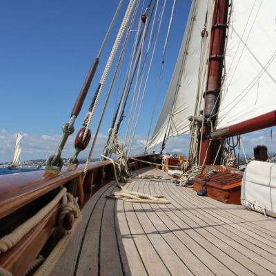 REGATES DE NICE 2015 - à bord du MARIGOLD