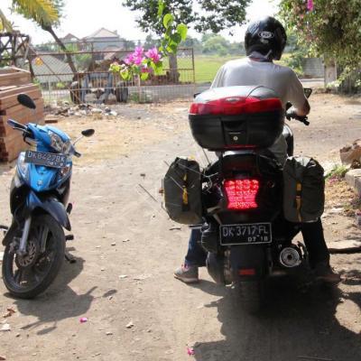 Nouveau départ pour l'est de Bali