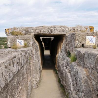 dernier étage du pont du Gard