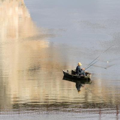 Le petit pêcheur de Villeneuve sur Lot
