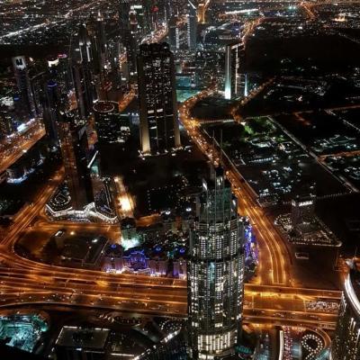 Certains buildings dépassent les 300m de haut et paraissent tout petits!