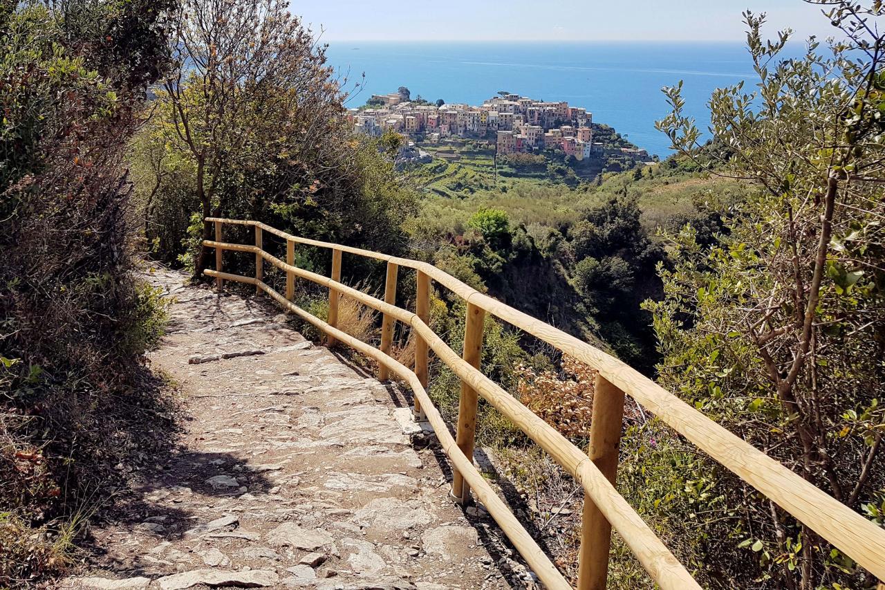 Corniglia, le bourg le plus élevé des Cinque Terre