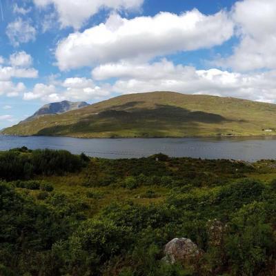 pluie et soleil en alternance ... nous sommes bien dans le Connemara
