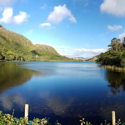 parc et lac magnifiques que nous n'aurons pas le temps de visiter