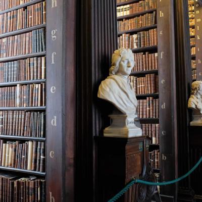 250 000 ouvrages dans cette incroyable Long Room de 65 mètres