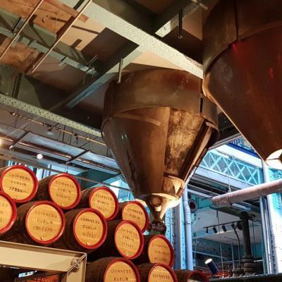 ancienne salle de fermentation transformée en musée