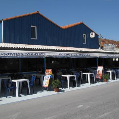 Bleu comme ... ce restaurant de la Tremblade (Ile d'Oléron)