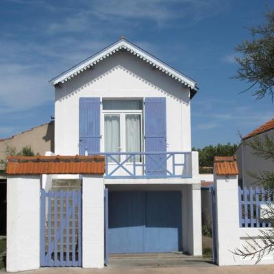 Bleu comme ... la petite maison bleue de Chatelaillon (La Rochelle)