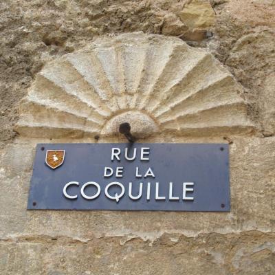 Bleu comme ... cette plaque de rue à Puisserguier (Béziers).