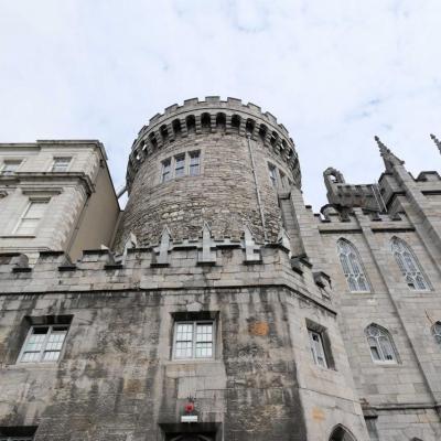 aujourd'hui le chateau est un important complexe gouvernemental irlandais