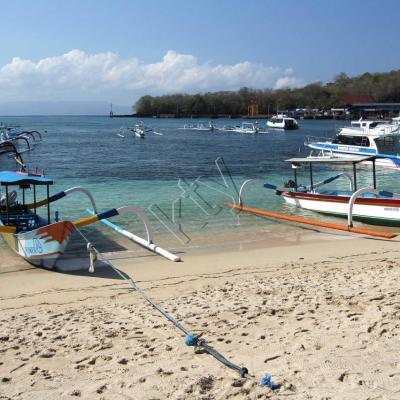 Départ de Padangbai (est de Bali) pour Gili Air