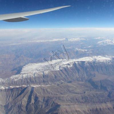 Les montagnes de l'Iran